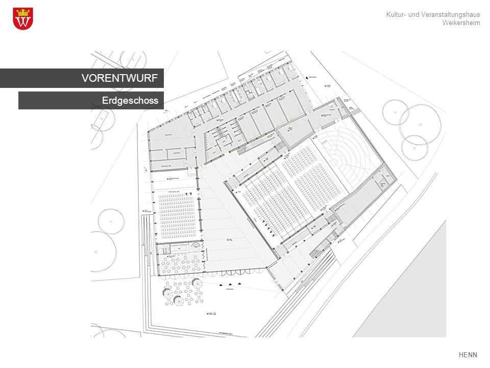 Kultur- und Veranstaltungshaus Weikersheim HENN Foyer FUNKTIONEN