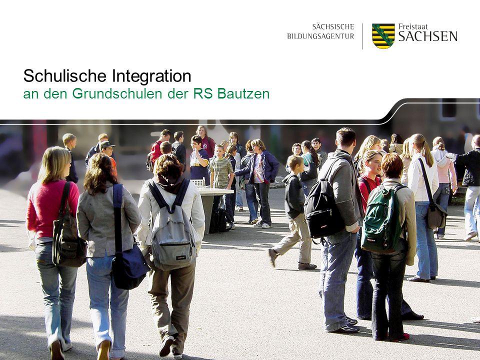 Schulische Integration an den Grundschulen der RS Bautzen