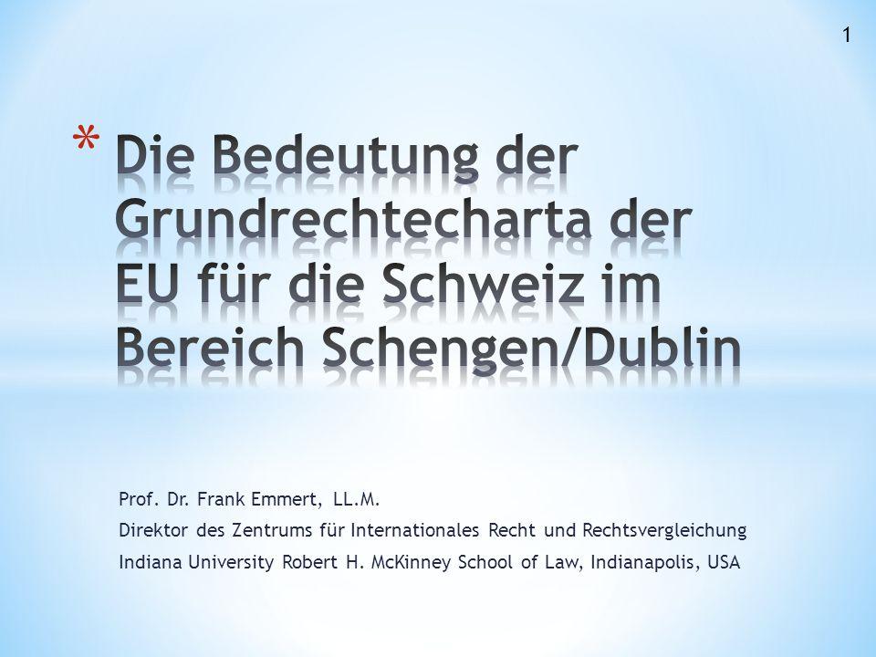 Prof. Dr. Frank Emmert, LL.M.
