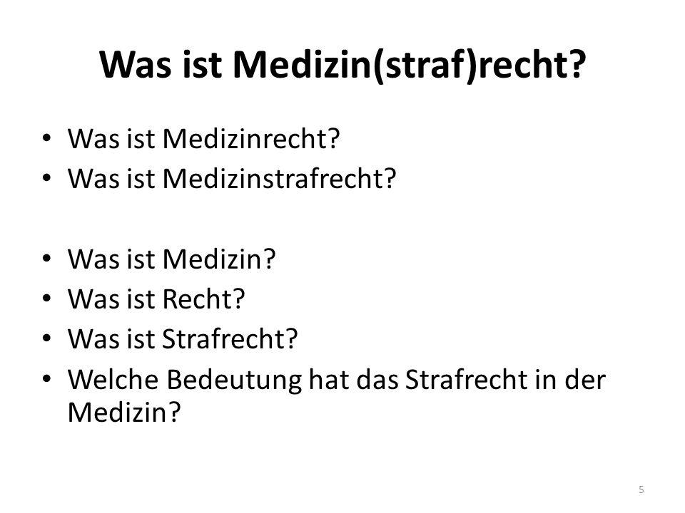 Literatur 2 Deutsch/Spickhoff, Medizinrecht, 7.Auflage 2014 Quaas/Zuck/Clemens, Medizinrecht, 3.