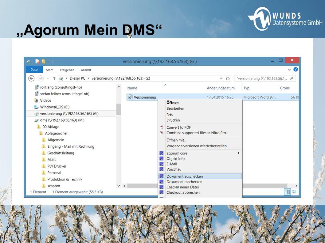 """Agorum Mein DMS"