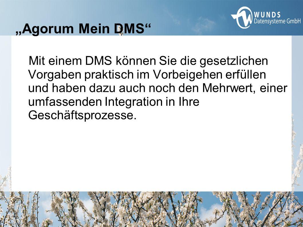 Mit einem DMS können Sie die gesetzlichen Vorgaben praktisch im Vorbeigehen erfüllen und haben dazu auch noch den Mehrwert, einer umfassenden Integrat