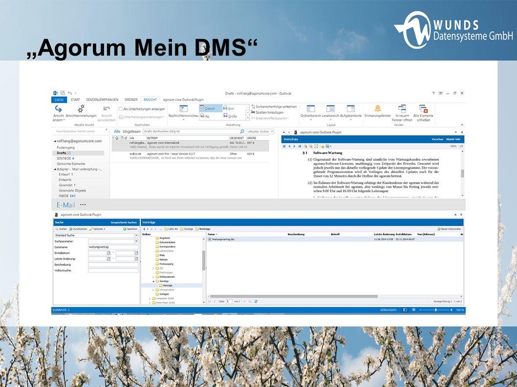 """Agorum Mein DMS"""
