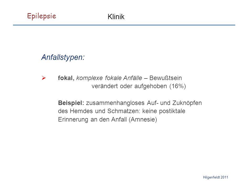Epilepsie Hilgenfeldt 2011 Therapie Konvulsiva:  Strychnin: Alkaloid aus der Brechnuß.