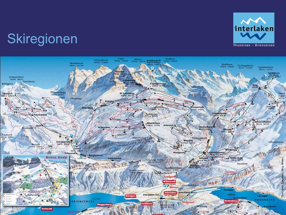 Skiregionen