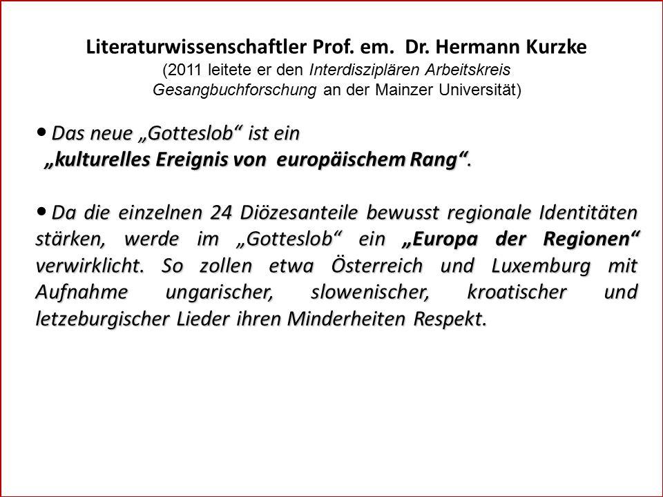 Literaturwissenschaftler Prof. em. Dr.