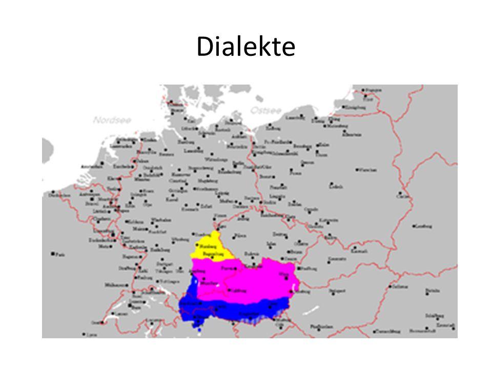 Dialekte