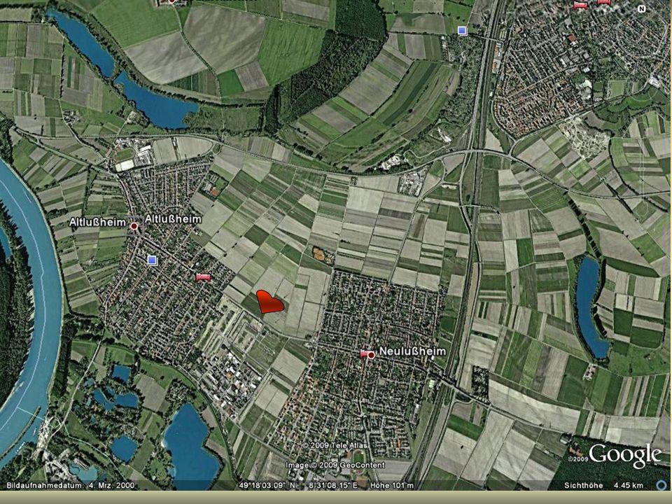 Argumente für eine neue Kirche und Gemeindezentrum zwischen beiden Orten.