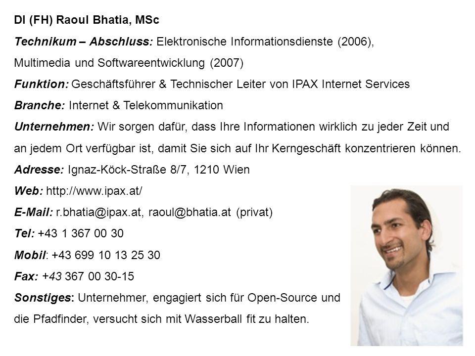 """DI (FH) Harald Winkelhofer Technikum – Abschluss: Elektronik (2002) Funktion: Geschäftsführer und Gesellschafter der IQ mobile GmbH Branche: Werbeagentur und Telekommunikation Unternehmen: Führende Mobile Marketing-Agentur im Alpen- und Südosteuroparaum; Leistungen: Marketing, Advertising, Messaging, Planning; Forschungsprojekte mit Hochschulen Adresse: Taborstraße 20a, Tür 5, 1020 Wien Web: www.iq-mobile.at E-Mail: winkelhofer@iq-mobile.at Tel: +43-1-32 45 33 66 Mobile: +43 664 24 53 366 Fax: +43- 1- 32 45 33 60 Sonstiges: Lektor am Technikum Wien, Mitglied der XING Gruppe """"Alumni Club Technikum Wien"""
