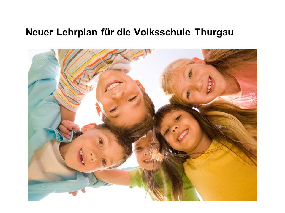 Neuer Lehrplan für die Volksschule Thurgau