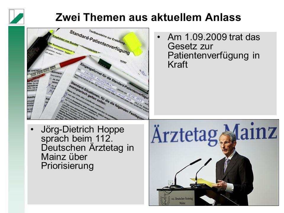 Mitglieder: 11 Arbeitsgruppen von 15 deutschen Universitäten und Forschungseinrichtungen Priorisierung in der Medizin: Eine theoretische und empirische Analyse unter Berücksichtigung der GKV www.for655.de Die DFG-Forschergruppe FOR 655