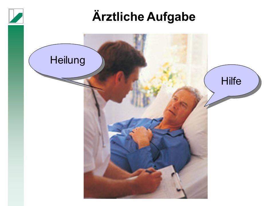 Heilung Hilfe Ärztliche Aufgabe Heilung Hilfe