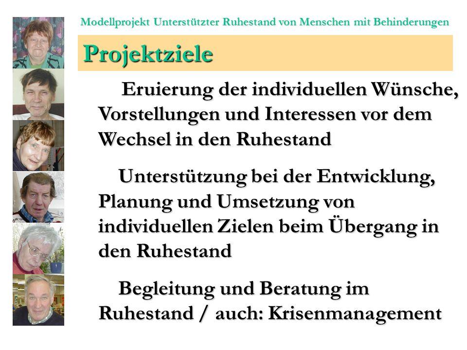 Modellprojekt: Unterstützter Ruhestand von Menschen mit Behinderungen Köln Düsseldorf Münster Westf.