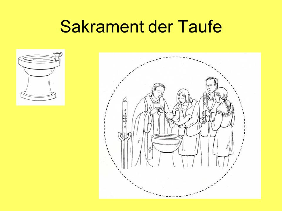 Sakrament der Taufe
