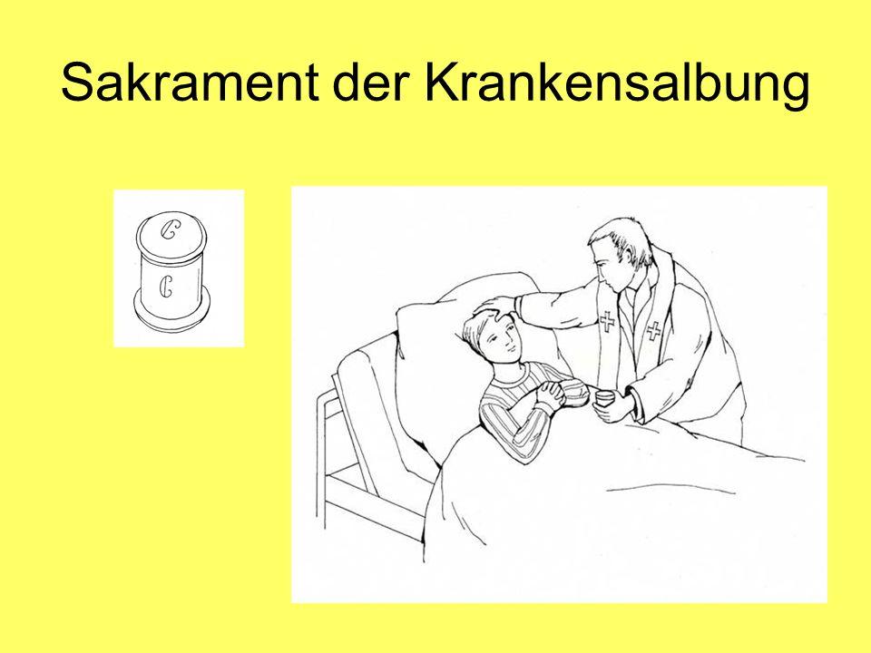 Sakrament der Krankensalbung