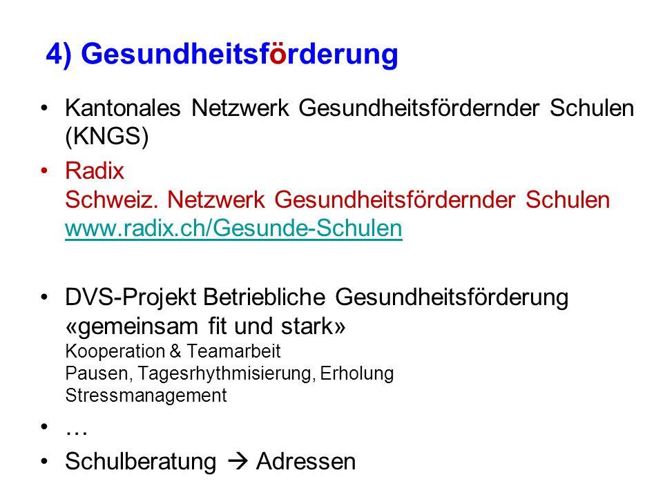Kantonales Netzwerk Gesundheitsfördernder Schulen (KNGS) Radix Schweiz. Netzwerk Gesundheitsfördernder Schulen www.radix.ch/Gesunde-Schulen www.radix.