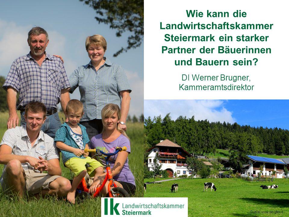 Wie kann die Landwirtschaftskammer Steiermark ein starker Partner der Bäuerinnen und Bauern sein.