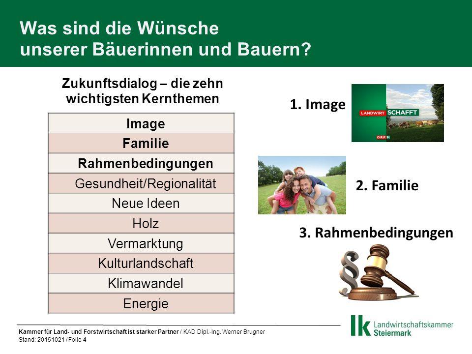 Die Landwirtschaftskammer Steiermark ein treuer Begleiter im bäuerlichen Leben Bildung