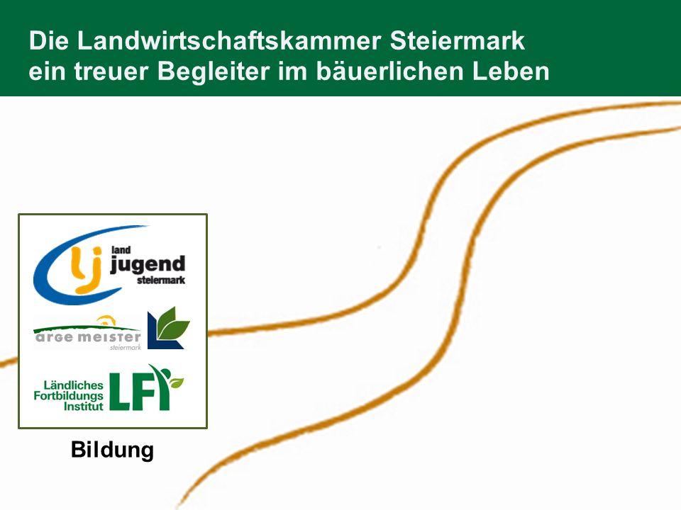 Öffentlichkeitsarbeit Die Landwirtschaftskammer Steiermark 1.