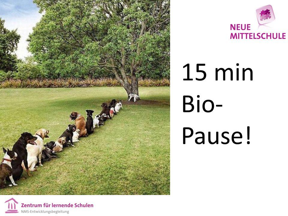 15 min Bio- Pause!