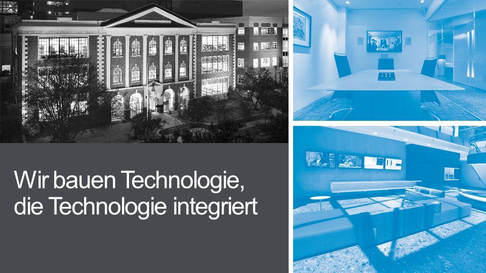 Wir bauen Technologie, die Technologie integriert