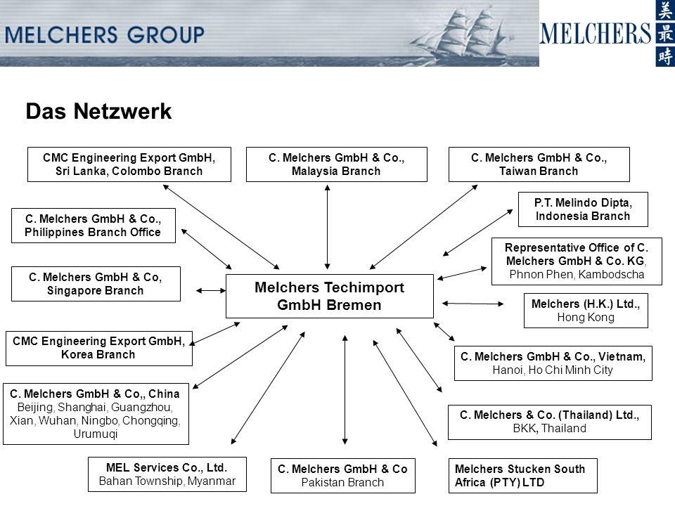Das Netzwerk Melchers (H.K.) Ltd., Hong Kong C.