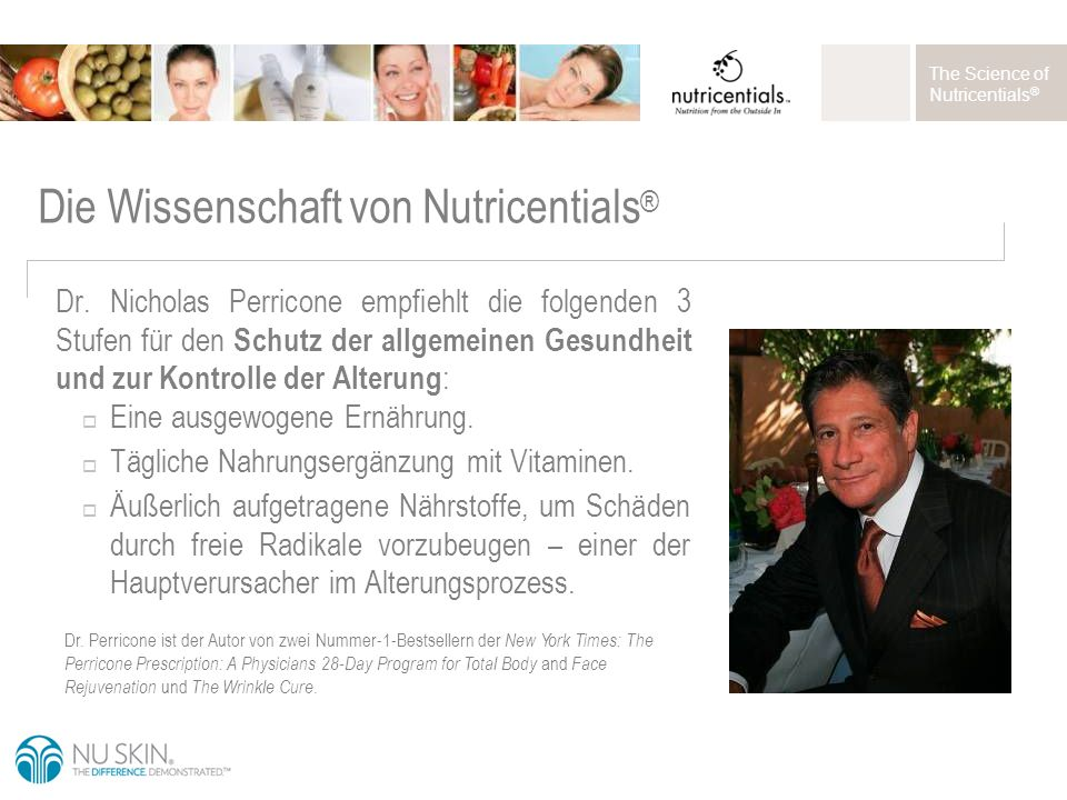 The Science of Nutricentials ® Dr.