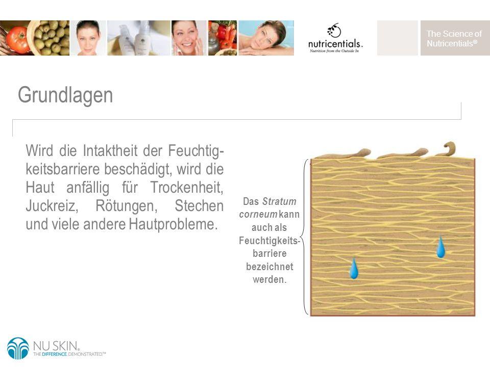 The Science of Nutricentials ® Anwendung Großzügig mit den Fingerspitzen auf der gereinigten Haut verteilen.