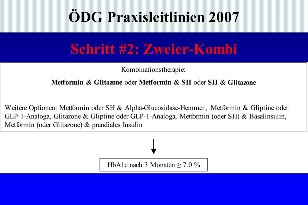 ÖDG Praxisleitlinien 2007 Schritt #2: Zweier-Kombi