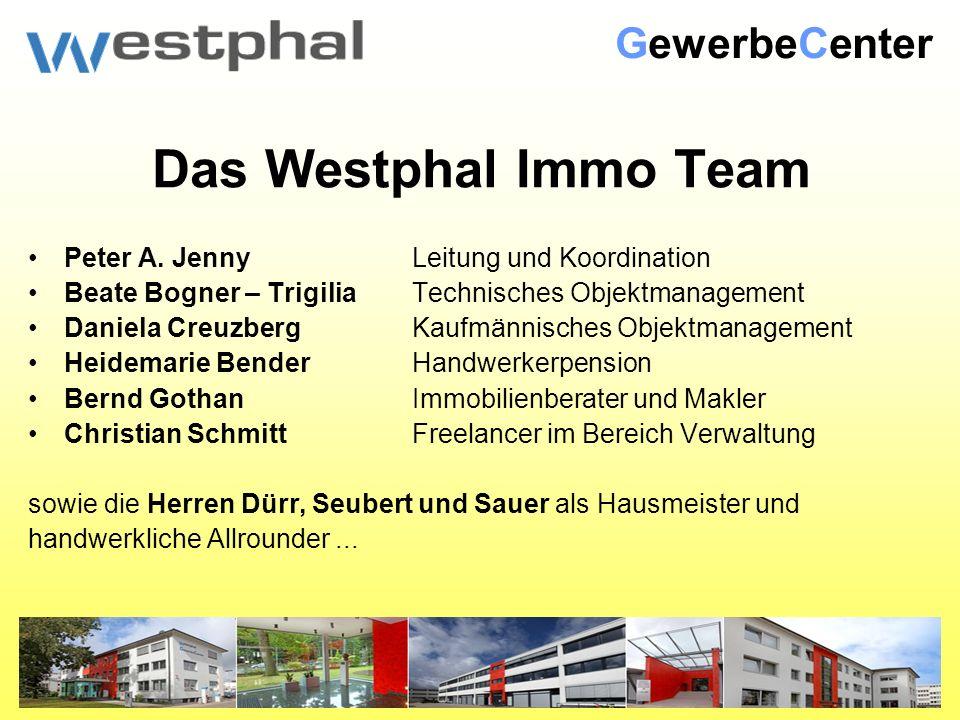 Das Westphal Immo Team Peter A.