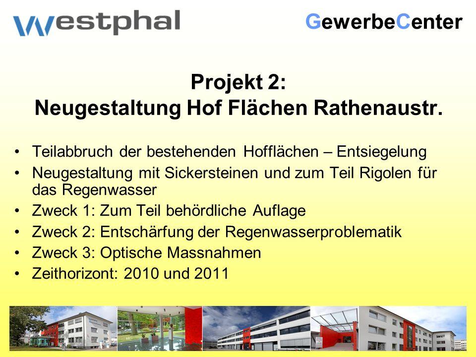 Projekt 2: Neugestaltung Hof Flächen Rathenaustr.