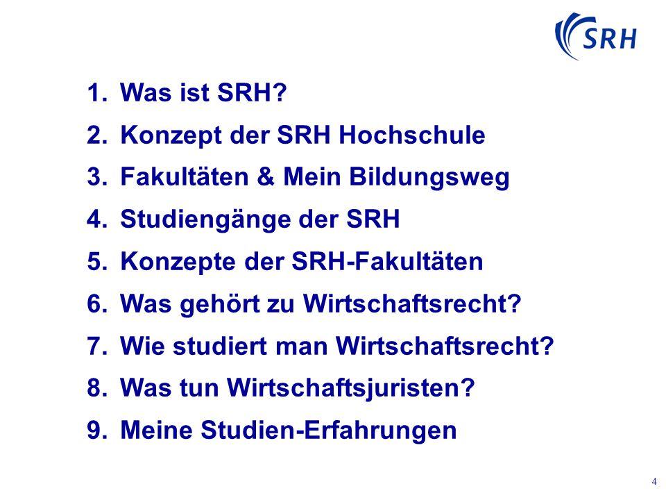 4  Was ist SRH.