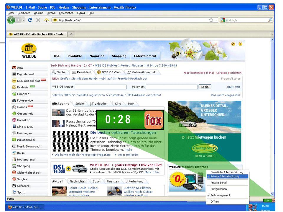 19Aurenz GmbH Mehrwerte auf einen Blick  Sie lassen es nach Ihren Vorstell- ungen mit klaren Regeln für alle zu  Privat bleibt privat  Eindeutig definierte Prozesse  Datenschutzkonforme Missbrauchsaufdeckung  Problemlose E-Mail-Archivierung  Entlastung der IT  WebFox als Managementinstrument