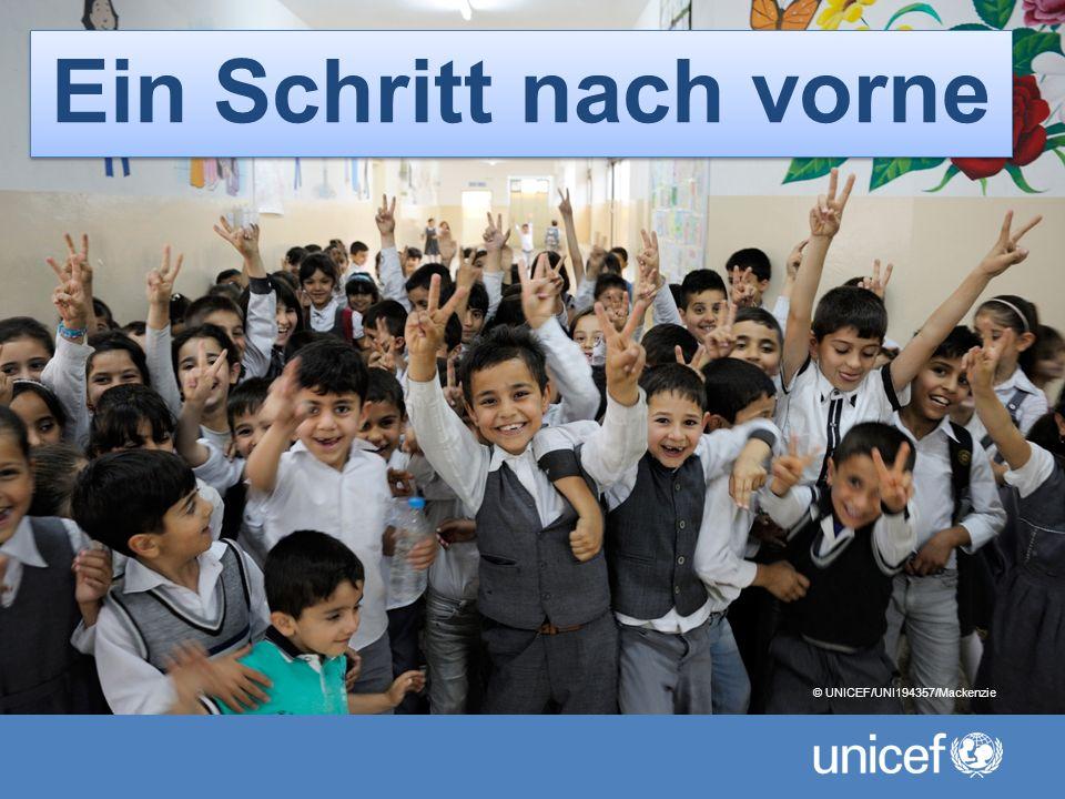 1 Ein Schritt nach vorne © UNICEF/UNI194357/Mackenzie