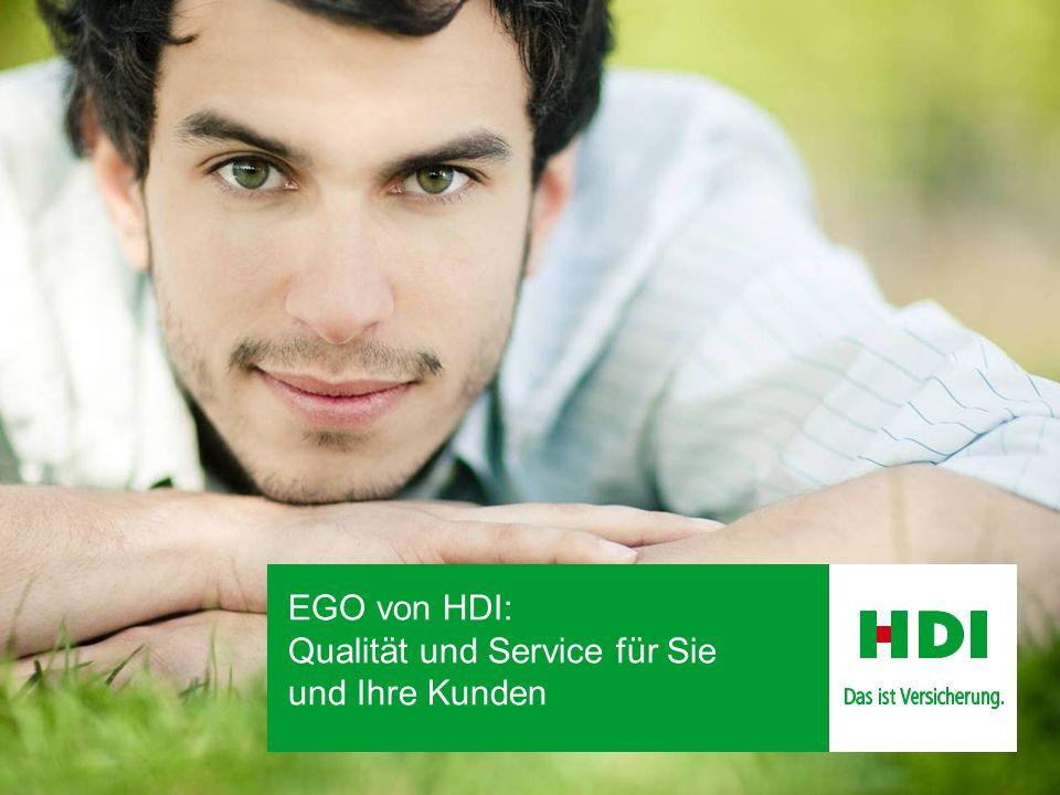 EGO von HDI: Qualität und Service für Sie und Ihre Kunden