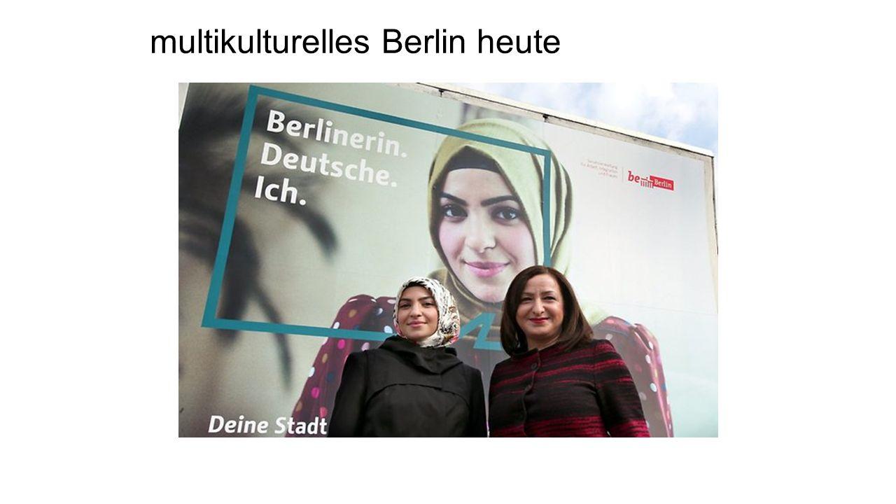 multikulturelles Berlin heute