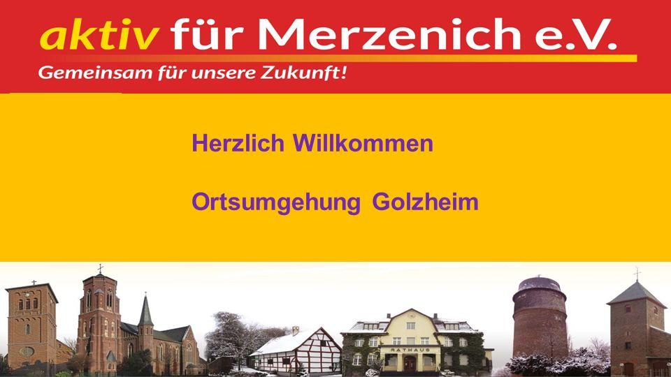 12 2. Verkehrssituation Golzheim 2.1 Ortsumgehung 2.2 Verkehrslenkung 2.3 Ziele