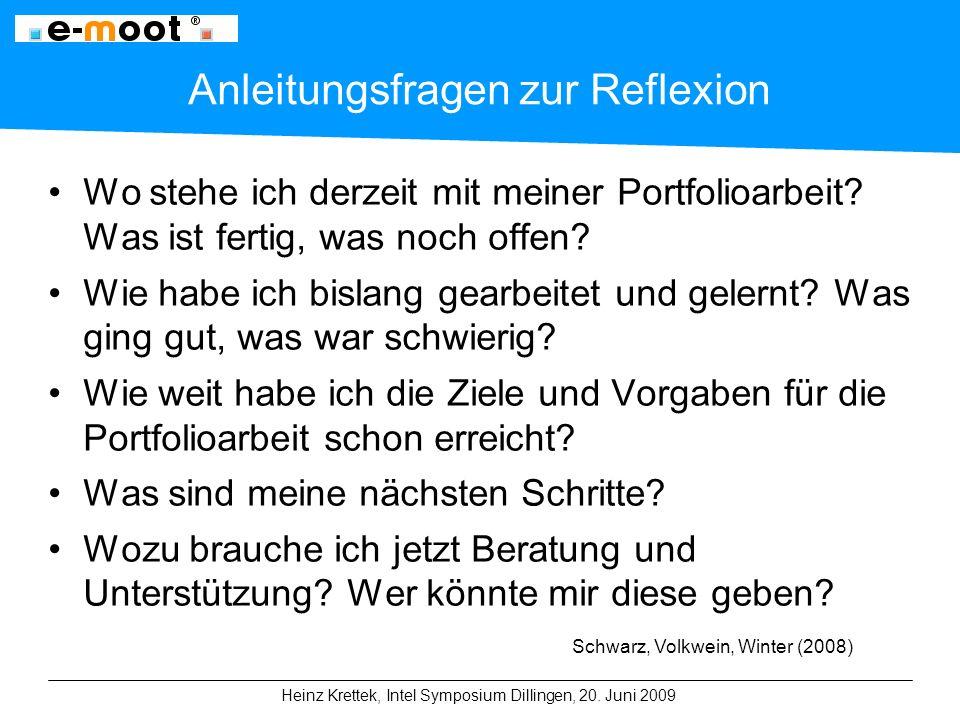 Heinz Krettek, Intel Symposium Dillingen, 20.