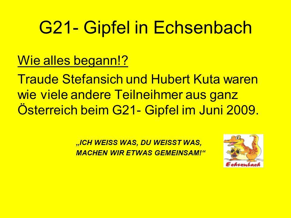 Bürgerbefragung im Oktober 2009 Leider ein bescheidener Rücklauf der Fragebögen Die Präsentation der Ergebnisse fand im Rahmen der Auftaktveranstaltung zur Aktion Gemeinde21 am 26.Nov.2009 im Gasthaus Waltner in Arbesthal statt.