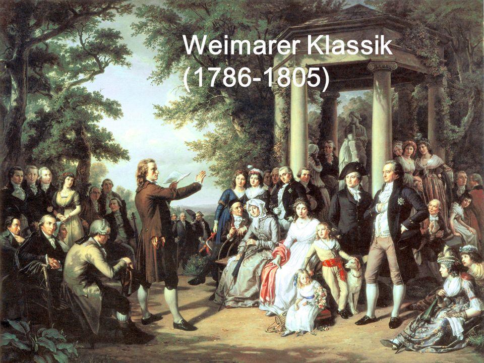 Weimarer Klassik (1786-1805)