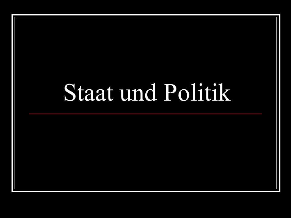 Staat und Politik