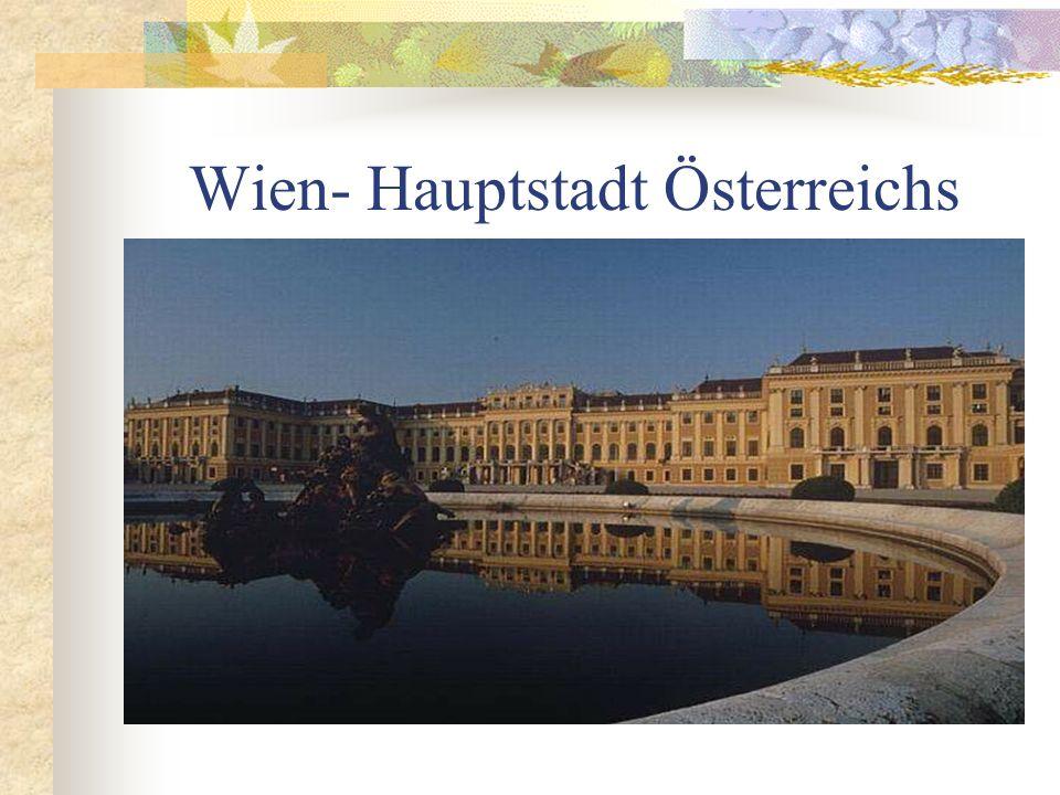 Wien- Hauptstadt Österreichs