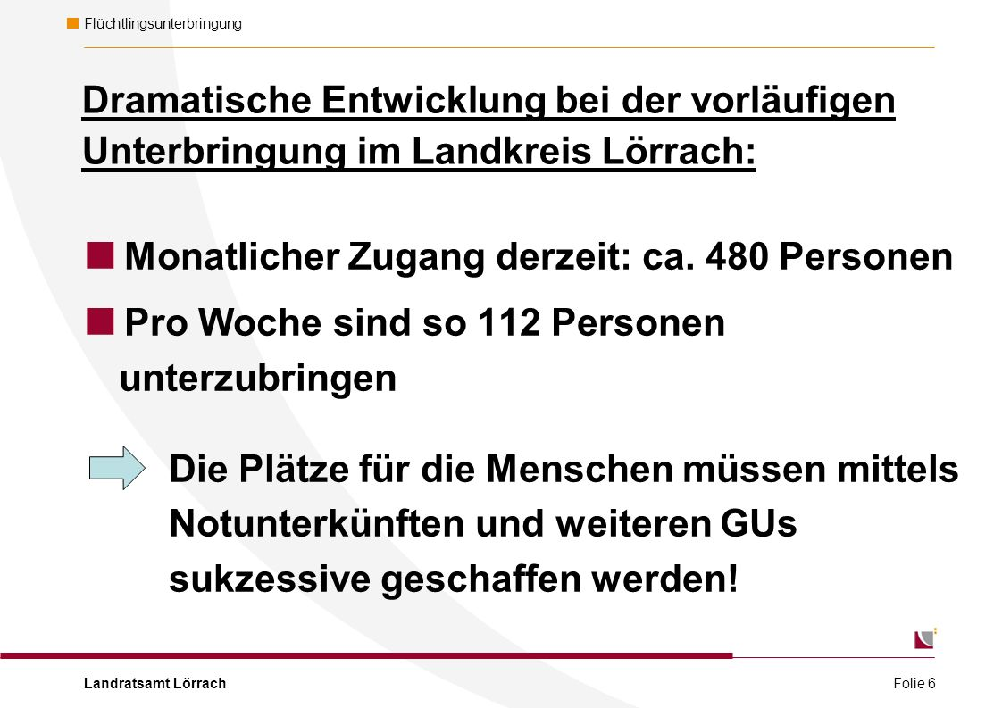Landratsamt Lörrach Flüchtlingsunterbringung Wie starte ich mein Engagement.