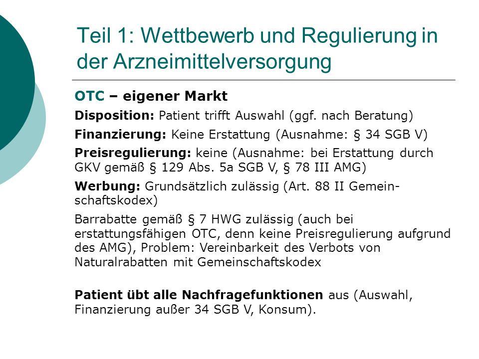 Patient übt alle Nachfragefunktionen aus (Auswahl, Finanzierung außer 34 SGB V, Konsum).