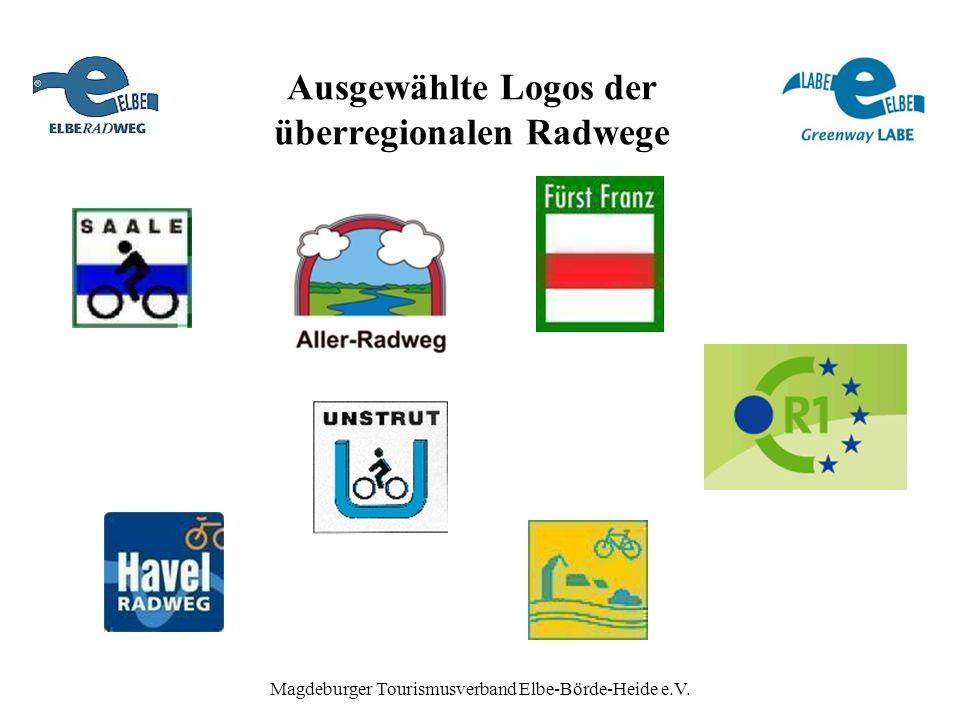 Magdeburger Tourismusverband Elbe-Börde-Heide e.V. Ausgewählte Logos der überregionalen Radwege