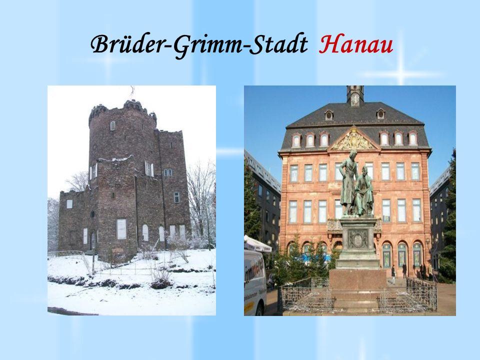 Brüder-Grimm-Stadt Hanau