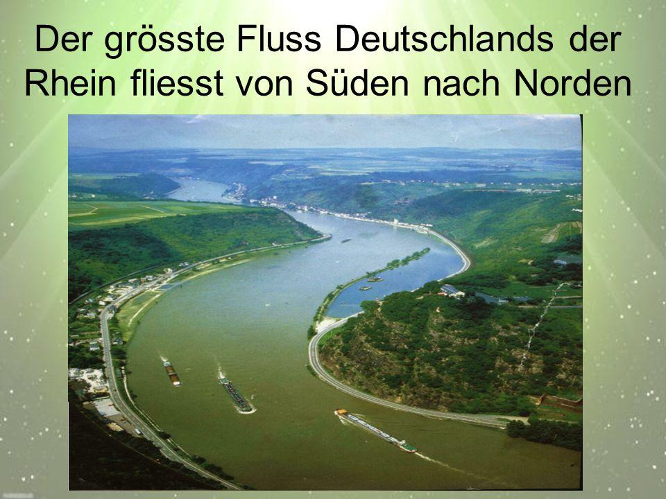 Der Rhein ist der romantischste aller deutschen Flüsse Viele Dichter, Maler und Musiker haben ihn in der ganzen Welt berühmt gemacht.