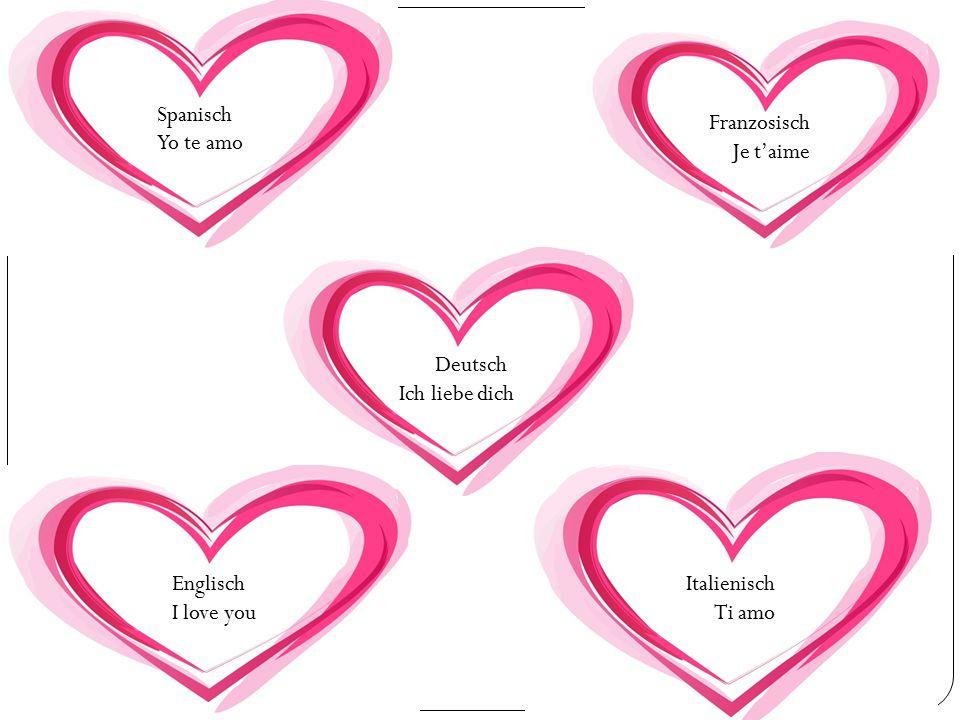 Der Valentinstag Am 14. Februar wird in vielen Ländern der Valentinstag gefeiert.