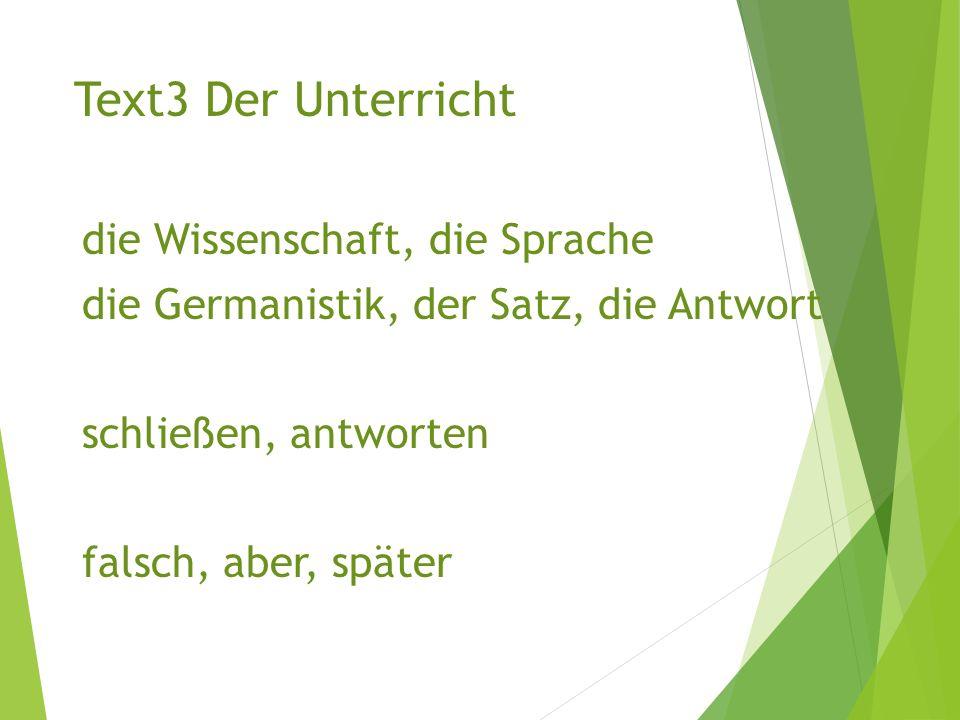 第二人称单数 du 命令式 不规则动词: 变音:词干(不变音) + ( -e )! Beispiele: Nimm Platz! Lies den Text noch einmal! Beispiele: Nimm Platz! Lies den Text noch einmal!