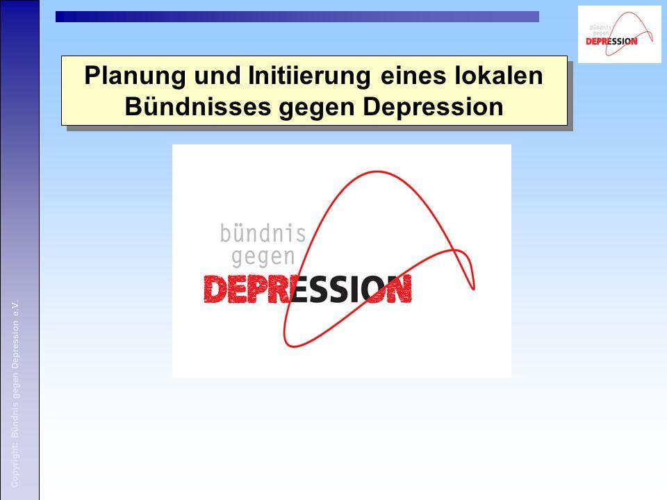 Copyright: Bündnis gegen Depression e.V. Beispiel Plakat: Motiv 2